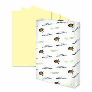 Hammermill Colored Paper 20 lb Tan Printer Paper 8.5 x 11-10 Ream 5000 Sheets...
