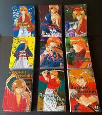 Rurouni Kenshin Manga COMPLETE VIZBIG EDITION Very Good Condition