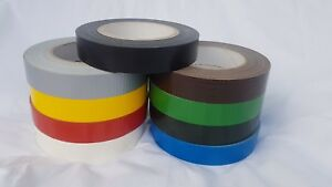 Gaffa Gaffer Duct Tape General Purpose Cloth 25mm x 50 Metres Water Resistant