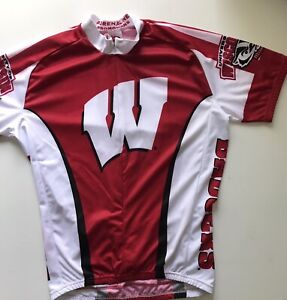 Wisconsin Badger Cycling Jersey CL