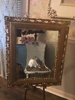 """Heavy Large Vintage Wood Carved Ornate Frame. 23"""" X 27"""""""