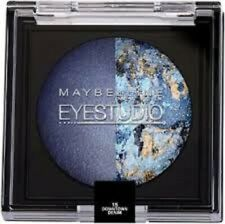 MAYBELLINE EYE STUDIO EYE SHADOW DUO - 15 DOWNTOWN DENIM -SEALED