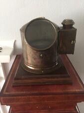 Sestrel Brass Binnacle Ship Compass - F. H. Bresler Company