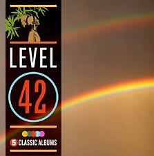 LEVEL 42 - 5 CLASSIC ALBUMS: 5CD ALBUM SET (October 16 2015)