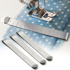 """6pcs Quilting Supplies Stainless Steel Hemming Clip 3"""" Measurement Ruler Sewing"""