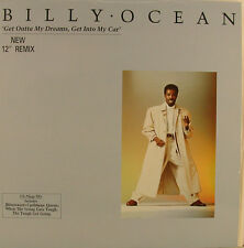"""Billy Ocean Get Outta My Dreams Get Into My Car NEW remix 12"""" maxi single (j55)"""