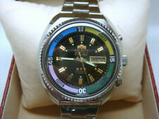 Vintage NEW OLD STOCK ORIENT 21 Jewels AUTO Men's Watch 80's