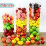 Plastic Artificial Fake Fruit Home Decor Craft Orange Apple Lifelike Decorative