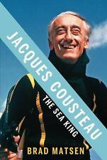 Jacques Cousteau: The Sea King-ExLibrary
