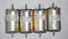 FOUR  Canon Precision 7 pole DC motor 24V FN38 series  . Japan