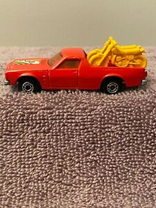 Matchbox Superfast No60 Holden Pick-Up with two Motorcycles Made in England 1977