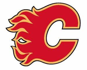 Calgary Flames Sticker Decal S172 Hockey YOU CHOOSE SIZE