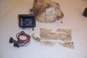 1977 1978 77 78 CHEVROLET CHEVY IMPALA CAPRICE NOS DASH CLOCK ORIG GM #995220