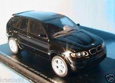 BMW X5 V12 LE MANS BLACK SPARK 1/43 EXCLUSIVE MODEL NEW NOIR NOIRE RESINE