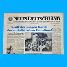 DDR Neues Deutschland September 1961 Geburtstag Hochzeit 58. 59. 60. 61. 62. ZK