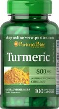 Cúrcuma 800 Mg X 100 Cápsulas circumin muy versátil hierba Envío Gratis