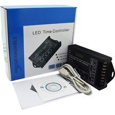 Time Programmable contrôleur LED RGB DC12-24V 5 canal de sortie totale 20A TC420