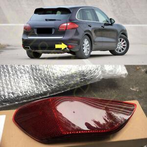1X For Porsche Cayenne 2010-2014 Rear Bumper Right Passenger Fog Lamp Reflector