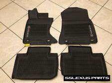 "Lexus IS350 IS300 (AWD) (16-18) OEM 4pc ALL WEATHER FLOOR ""LINER"" MATS (Black)"