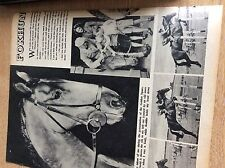 q2-4 ephemera 1953 picture article foxhunter lt col harry llwellyn