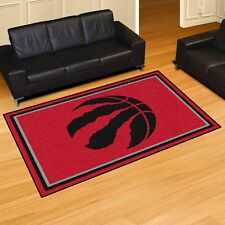 Toronto Raptors 5 X 8 Decorative Ultra Plush Carpet Area Rug