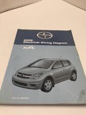 2006 Toyota SCION XA OEM Factory Electrical Wiring Diagram Manual Book