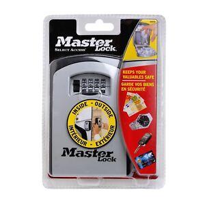 Master Lock Extra Large Wall Mounted 4 Digit Combination Key Safe