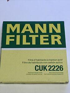 MANN CUK2226 CABIN FILTER FOR TOYOTA