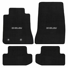Mustang Carpet Floor Mats w/Shelby Word Logo - 2015 - 2018  Coupe & Convertible