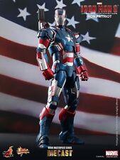 Hot Toys Sideshow Mms195D01 Diecast Iron Man Iron Patriot Avengers Don Cheadle