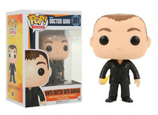 "EXCLUSIVE NINTH DOCTOR WHO WITH BANANA POP 3.75"" VINYL FIGURE FUNKO 301"