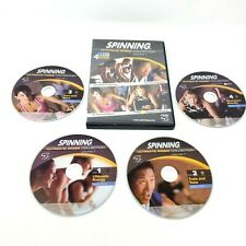 Spinning Ultimate Rides Collection vol 1- 4 DVD set Cycling Bike Exercise Great