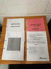 AMADA VELA II 305050 Manuals £100 + VAT