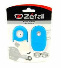 ZEFAL CRANK ARMOR MOUNTAIN BIKE CRANKS ARM PROTECTOR SLEEVE/BOOT, BLUE
