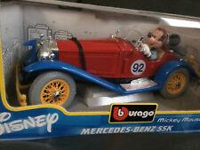 "BURAGO DISNEY MICKEY MERCEDES BENZ SSK code 21501 ""RACE CAR"""