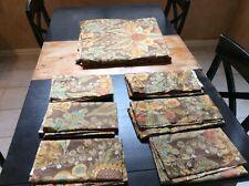 Pottery Barn Duvet Cover Full/Queen 100% Cotton Floral + 6 Pillow Shams