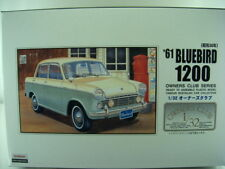 NEW ARII 1961 BLUEBIRD 1200 1/32 Scale PLASTIC MODEL KIT OWNERS CLUB SERIES