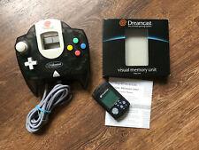 Original Sega Dreamcast Millennium Edition Controller DC + VMU Schwarz Black RaR