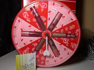 LIME CRIME Spin the Dial LIP SET 3 Mini Wet Cherry Gloss + 3 Mini Velvetine BNIB