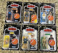Star Wars Vintage Collection Retro Wave 2 Set Luke Han Leia Lando Yoda Boba Fett