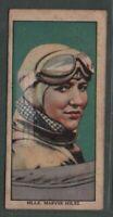 Maryse Hilsz French Female Pilot Altitude Endurance Records 1930s Trade Ad Card