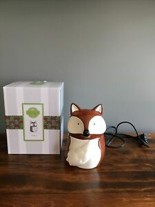 "Scentsy Wax Warmer ""Red Fox"" Retired Hard To Find In Box"