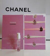 Chanel CHANCE Tendre EAU DE TOILETTE SPRAY EDT 2ml Vial Metal Ribbons Bookmark