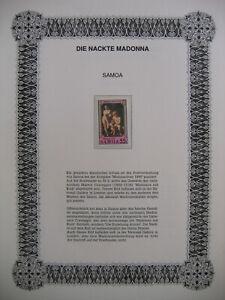 Irrtümer auf Briefmarken / Samoa 1990 Mi 710 : Erziehung des Amor - Weihnachten