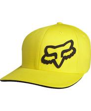 Cappellino FOX Modello Signature 2017 FlexFit Hat GIALLO TG S/M
