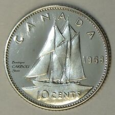 1968 Canada Proof-Like 10 Cents