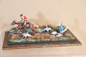 HISTOREX MOUNTED BRITISH SOLDIER The KING'S MESSENGER DIORAMA MUSEUM QUALITY nv
