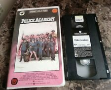 Police Academy 1 (VHS, 1984) CLAMSHELL CASE