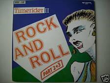 """TIMERIDER II ROCK AND ROTOLO 2+3 SINGOLA 12"""" MAXI ZYX RECORDS ITALO (L1440)"""
