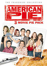 American Pie: 3 Movie Pie Pack (DVD, 2005, 3-Disc Set, R-rated version)